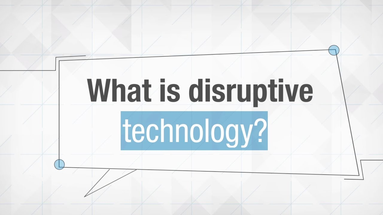 disruptive technology Disruptive technology and securities regulation chris brummer georgetown  university law center this article is brought to you for free and open access by .
