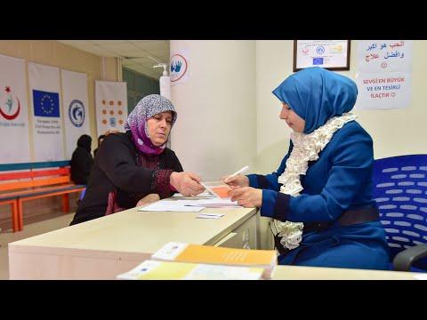 UNFPA'nın Kadın Sağlığı Danışma Merkezleri