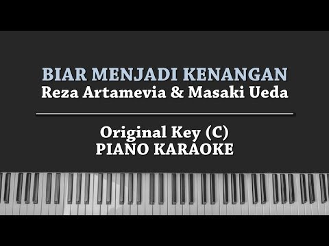 Biar Menjadi Kenangan (KARAOKE PIANO COVER) Reza Artamevia Feat Masaki Ueda With Lyrics