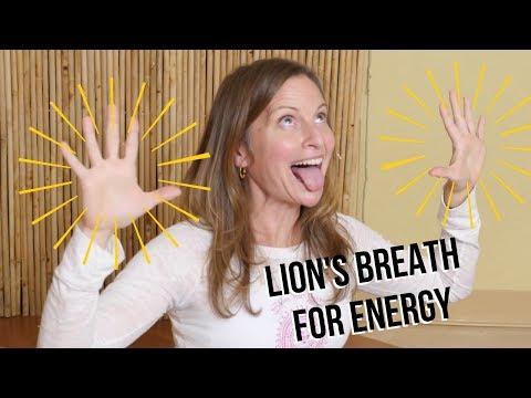 Lion's Breath Tutorial | Pranayama for Boosting Energy