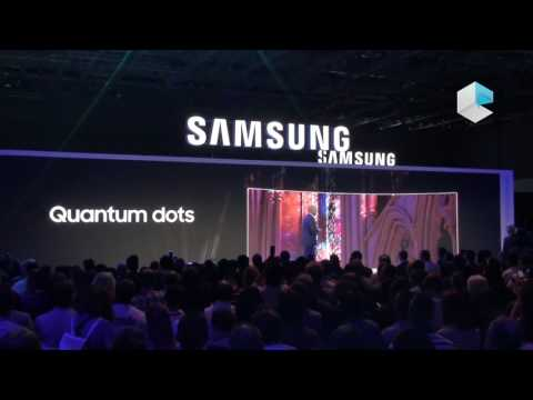 "Samsung @ IFA 2016 - SUHD TV 88"" KS9800, soundbar HW-K950 and monitor CFG70 e CF791"