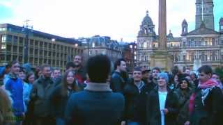 Glasgow Street Party Maggie Thatcher Death Celebration Scotland 2013