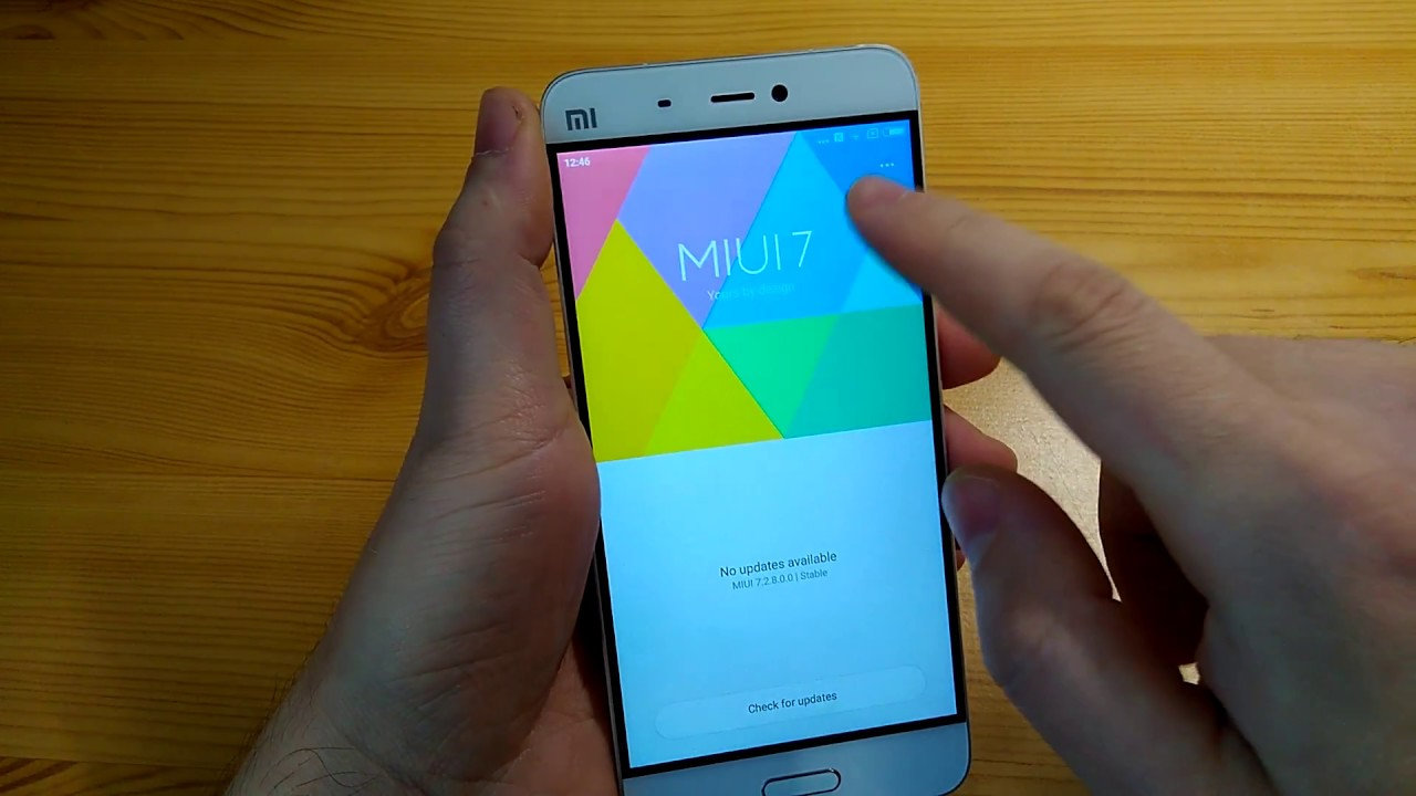 Xiaomi Mi5 Update Miui 8 Problem - Can't verify update