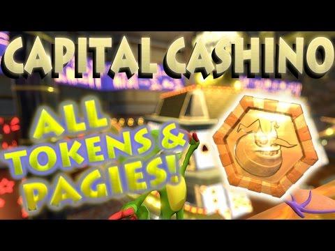 Yooka-Laylee - Capital Cashino Tokens & Pagies