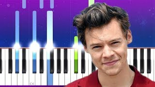 Harry Styles - Lights Up (Piano Tutorial)