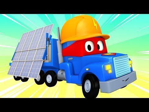 Especial Verão - O caminhão de painel solar  Carl o Super Caminhão na Cidade do Carro