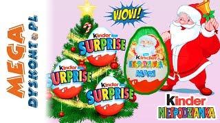Kinder Niespodzianka • Świąteczne Maxi Jajko i Smerfy