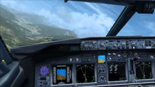 Landing the iFly 737NG in Bhutan (FSX)