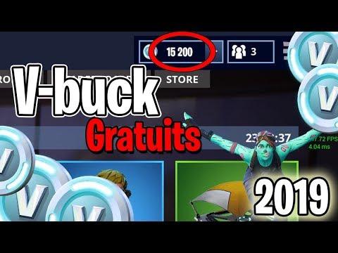 GLITCH V-BUCKS GRATUITS ! + 15 000 v-buck - Fortnite 2019