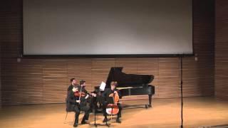 Edvard Grieg: Andante con moto for piano trio (1878)