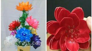 DIY Cara Membuat Bunga Teratai dari Manik Akrilik