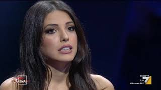La testimoniaza in studio di Clarissa Marchese sulle molestie subite del regista Brizzi
