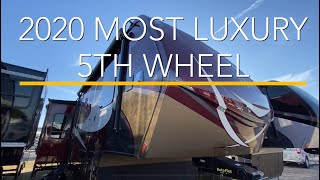 THE BEST LUXURY 5TH WHEEL COMPANY: 2020 Vanleigh RV Beacon 42RDB Walk Thru