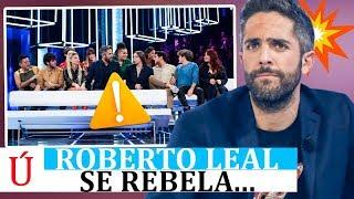 Lo que no viste en la Gala 0   Roberto Leal se rebela contra Operación Triunfo