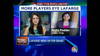 CNBC-TV18 Exclusive: Lafarge India Sale - Nirma In The Fray