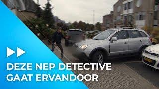 Achtervolging na aanspreken oplichter | Undercover in Nederland