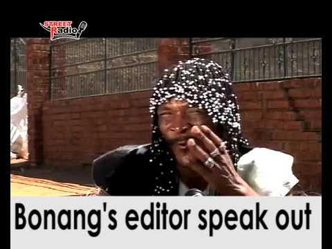 Bonang Book editor speaks out