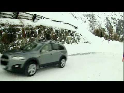 Chevrolet Captiva Winter Trailer