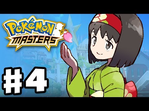 Pokemon Masters - Gameplay Walkthrough Part 4 - Chapter 4