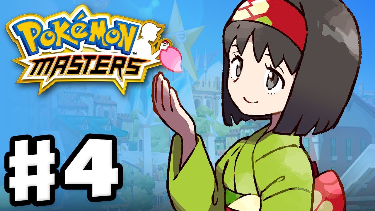 Pokemon Masters - Gameplay Walkthrough Part 4 - Chapter 4