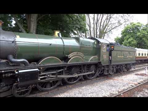GWR Castle Class 4-6-0 no 5029 Nunney Castle with Torbay Express