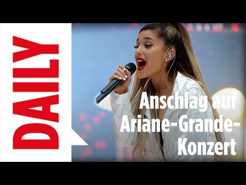 Ariana Grande / Terror-Anschlag in Manchester - BILD Daily live 23.05.17