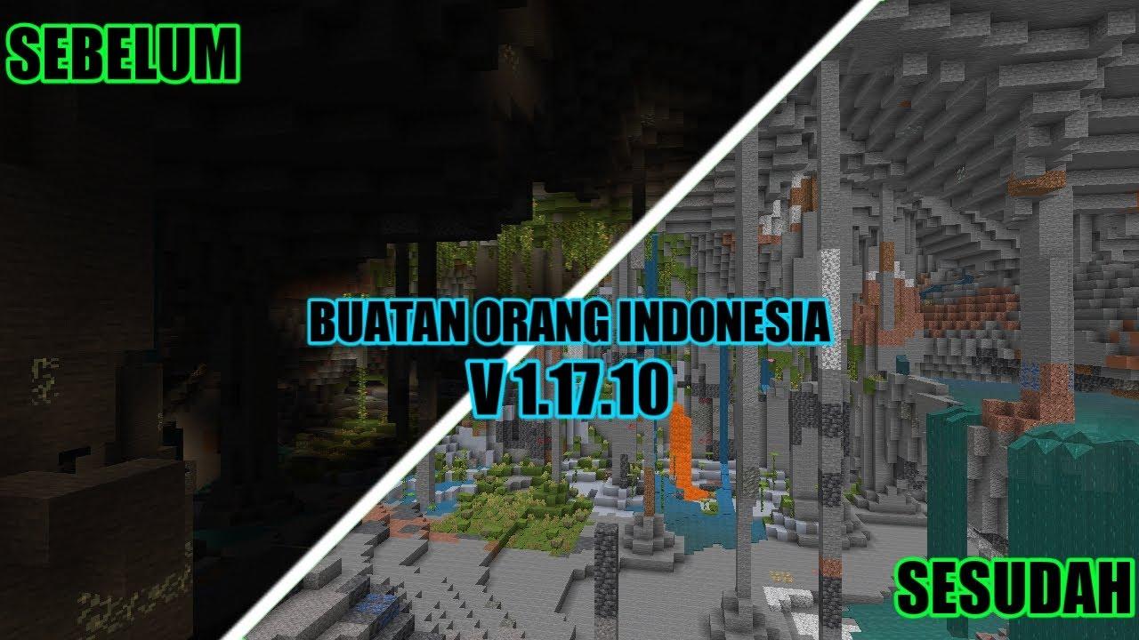 Night Vision mcpe 1.17.10 buatan anak indonesia
