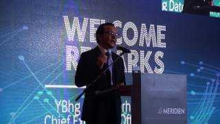 Launch of MTDC TENTRA   Welcoming Remarks by YBhg  Dato' Norhalim Yunus 26 Apr 2017