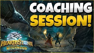 HEARTHSTONE COACHING SESSION - REPLAY ANALYSIS AND TEMPO MAGE GAMEPLAY