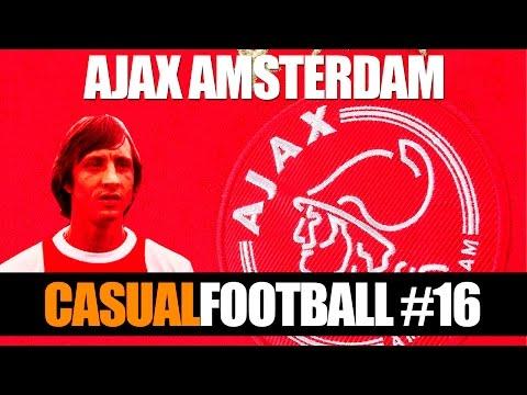 Atrox CF 16 - Ajax Amsterdam o futebol total de Cruyff & Cia