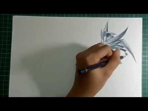 Vẽ Nakrot max đẹp bằng bút chì