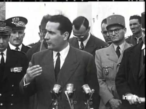 Allocution de Mitterrand et interview du caïd M'Chouneche خطاب ميتران و مقابلة قايد مشونش بالاوراس