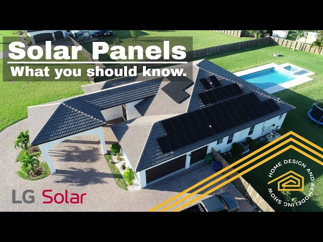 Solar Energy and Installing Solar Panels on Your Home