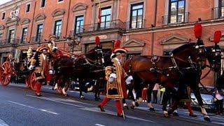 Delivery of diplomatic credentials in madrid. Entrega de cartas credenciales diplomáticas en madrid