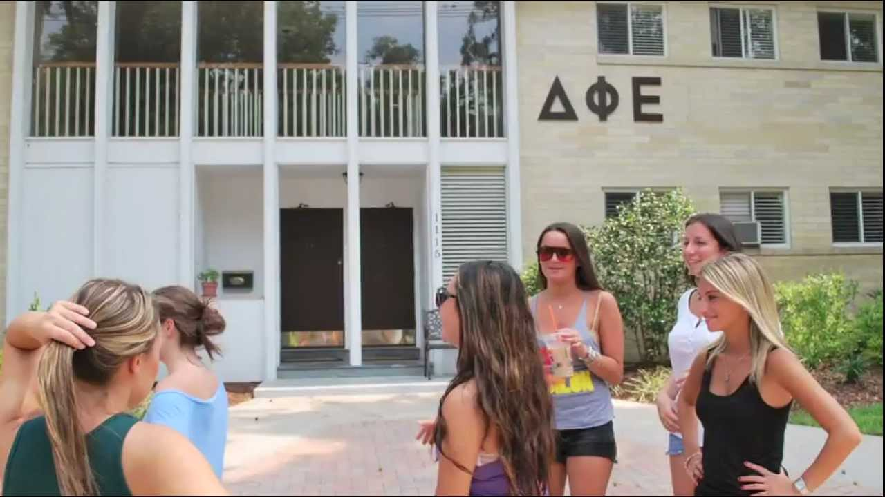 Delta Phi Epsilon Recruitment University of Florida - YouTube