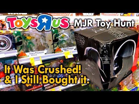 Hasbro Darth Vader Helmet Toys R Us Toy Hunting With MJR