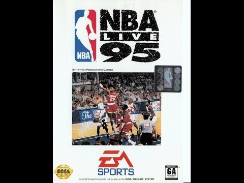 NBA Live '95 (Sega Genesis) - Game Play