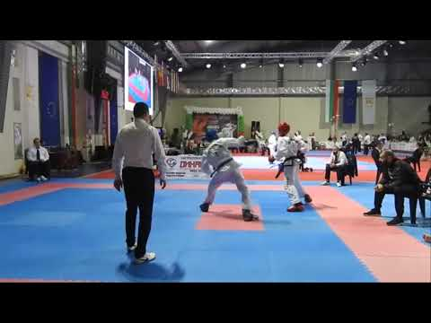 Bulgaria Open TKD ITF 2017, team sparring Junior Male 14-15 years, quarterfinal