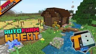 Lag Proof Micro Wheat Farm | Truly Bedrock Season 1 [55] | Minecraft Bedrock Edition SMP