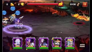 Heroes Charge - Outland Portal - Burning Phoenix [Difficulty II]