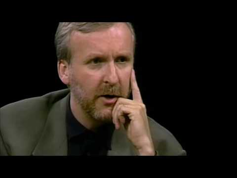 "James Cameron interview on ""Titanic"" with Charlie Rose (1997)"