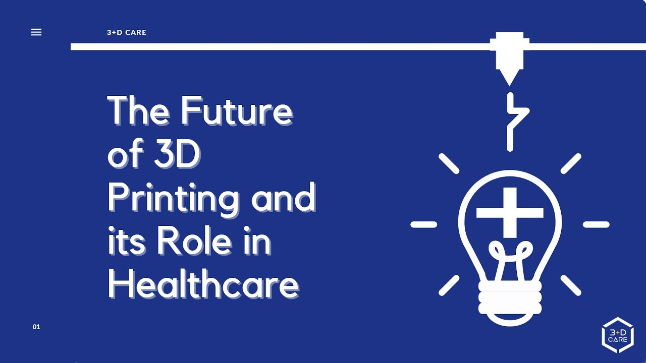 The Future of 3D Printing and its Role in Healthcare