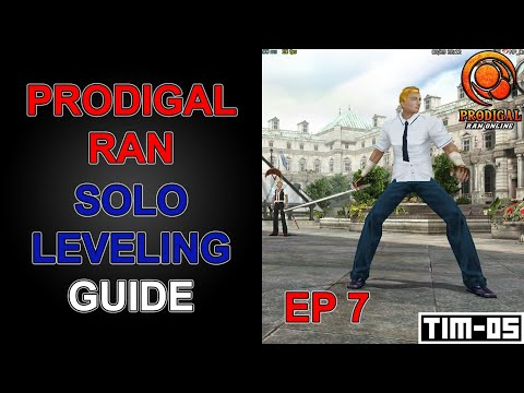 RAN ONLINE SOLO LEVELING GUIDE, PRODIGAL RAN