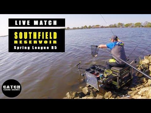 'LIVE MATCH' R5 SOUTHFIELD RESERVOIR SPRING LEAGUE - LIVE BREAM FISHING