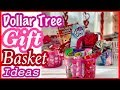 Dollar Tree GIFT BASKET IDEAS for Kids & Adults