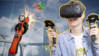 VIRTUAL REALITY SHOOTER IN THE SKIES! | Balloon Chair Death Match VR (HTC Vive Gameplay)