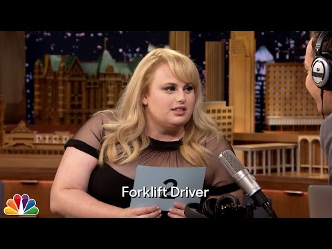 The Whisper Challenge with Rebel Wilson