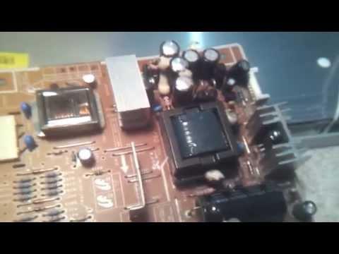 MONITOR LCD SAMSUNG 740N PANTALLA OSCURA