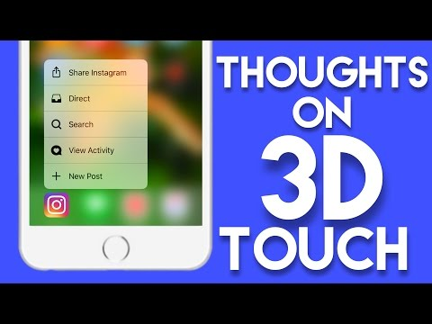 Thoughts on 3D Touch