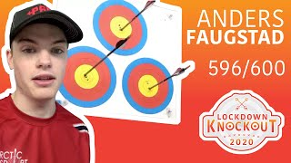 Anders Faugstad shoots 596/600 for qualification | Lockdown Knockout